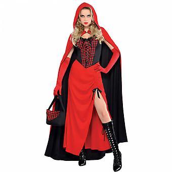 Vrouwen Riding Hood Enchantress volwassen kostuum
