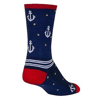 Chaussettes - Sockguy - Crew - On a Boat L/XL Cycling/Running