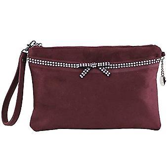 El Caballo Bolso de mano Estepa - Red Woman Bags (Burdeos) 3x19x29 cm (W x H L)
