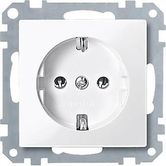 Merten Insert PG socket System M, 1-M, M-Smart, M-Plan, M-Creativ Polar white glossy MEG2301-0319