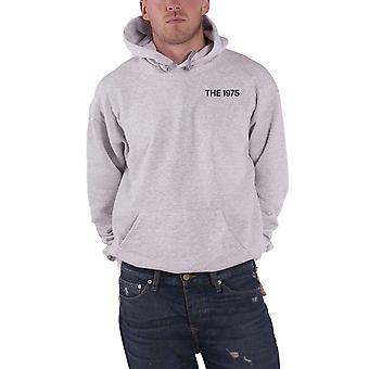 The 1975 Hoodie A Brief Inquiry MFC Band Logo new Official Mens Grey Pullover