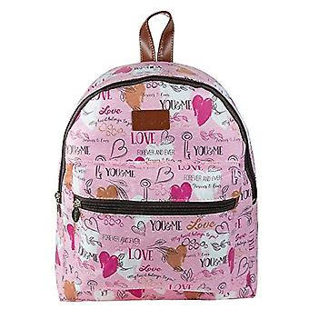 Diakakis 000582100 Backpack 32 x 28 x 10 cm Treasure - Pink
