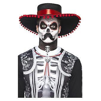 Dag i Dead Senor Bones make-up kit Halloween ansigtsmaling