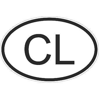 Aufkleber Aufkleber Aufkleber Aufkleber Flagge Oval Code Land Motorrad Auto Sri Lanka Sri Lanka Cl