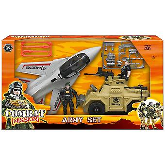 Combat Mission Ground & Air Attack Army Set