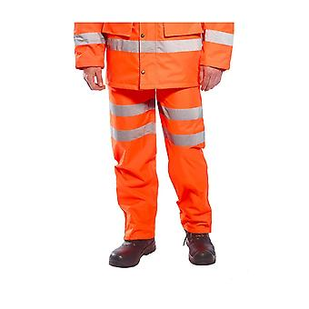 Portwest hi-vis breathable trousers rt61