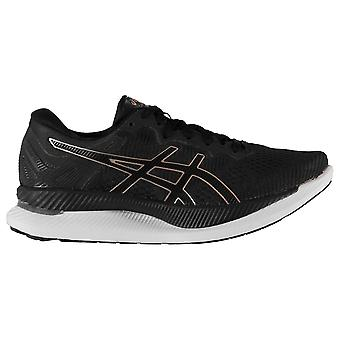 Asics Donne Signore Glideride Mesh Upper Lace-Up Running Scarpe Sportive