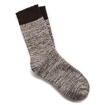 Birkenstock dame bomulds sokker multi 1002442 brun