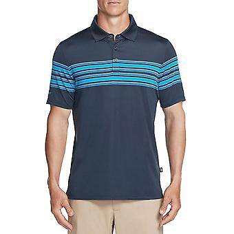 Skechers Golf Mens Club Face Stripe Stretch Performance Polo Shirt Top
