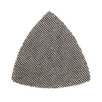 Haak en lus mesh driehoek vellen 95mm 10pk dank-120 Grit