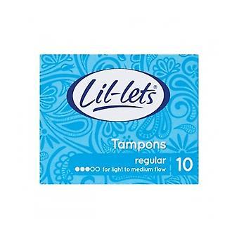 Lil-Lets Tampon Regular 10S