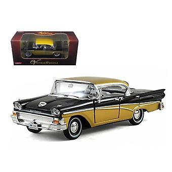 1958 Ford Fairlane Black 1/32 Diecast Car Model di Arko Products