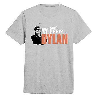 Bob Dylan Like a Rolling Stone Mic Pose Official T-Shirt