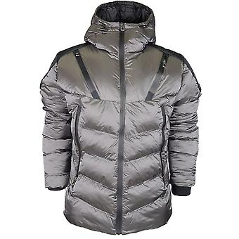 883 Police Wally Puffer Charcoal Jacket