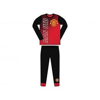 Manchester Utd FC Childrens/Kids Pyjamas
