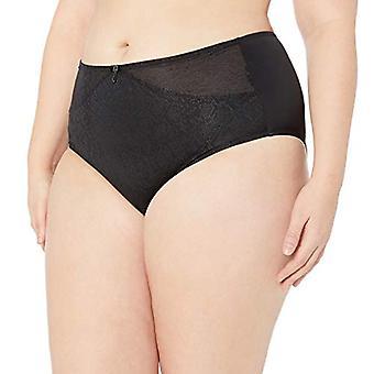 Elomi Women's Plus Size Mia Full Brief, Midnight, Midnight Garden, Size X-Large