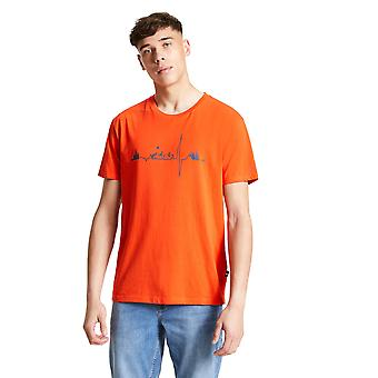 Durf 2b Mens Differentiëren Cotton Jersey Graphic T Shirt Tee