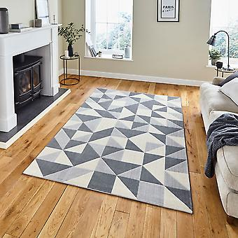 Vancouver 18214 Cinza Retangle Rugs Modern Rugs