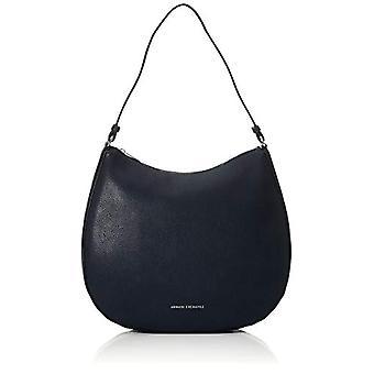أرماني تبادل حقيبة هوبو - حقائب الكتف النسائية الزرقاء (البحرية) 10x10x10 سم (W x H L)