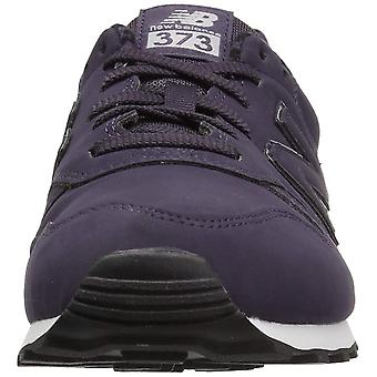 New Balance Womens WL373EBP NuBuck Low Top Lace Up Fashion Sneakers