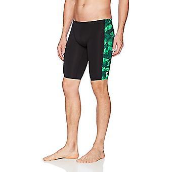 TYR Vesuvius Hero Splice Jammer, Green, 34, Green, Size 34