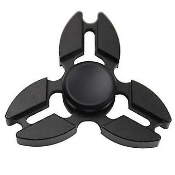 Stuff Certified® Falcon Tri Fidget Hand Spinner Anti Stress Shifter Toy Black