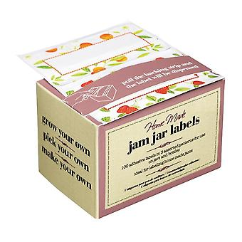 Homemade Chutney Jar Labels - Roll Of 100