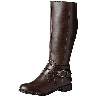 LifeStride Womens Subtle Fabric Closed Toe Knee High Fashion Boots