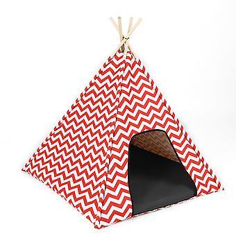 Ferribiella Zigo-Zago Tent 74X74X71Cm (Dogs , Bedding , Beds)