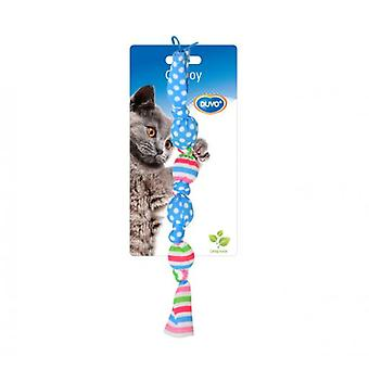 Duvo+ Cat Toy Balls Linked 17 X 3 x 3 cm (Cats , Toys , Movement)