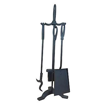 FireUp 3pc Fire Tool Set w/ Stand (21x60cm)