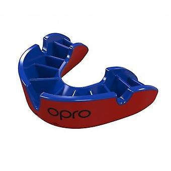 Opro シルバー世代 4 口ガード赤/青