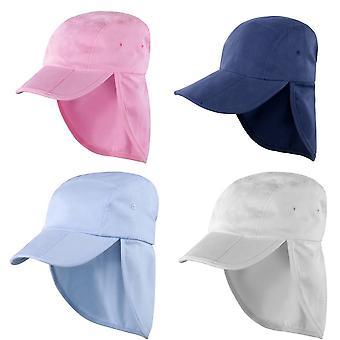 Result Headwear Kids/Childrens Unisex Folding Legionnaire Hat / Cap (Pack of 2)