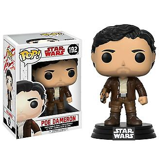 Funko Pop! Vinyl Star Wars: The Last Jedi - Poe Dameron Verzamelmodel #192