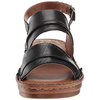 Bella Vita Women's JES-Italy Slingback Sandal Shoe, Black Italian Leather, 7 ...
