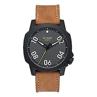 Nixon Mens Quartz analog watch with stainless steel band A471-2093-00