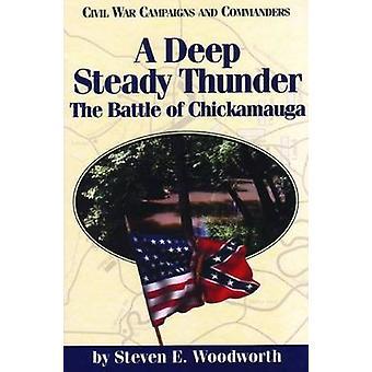 A Deep Steady Thunder by Woodworth & Steven E.