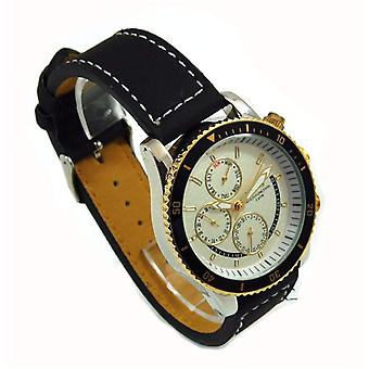 Henley Gents Chrono Effect Cream Dial Sports Watch
