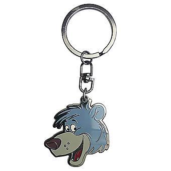 Disney Jungle Book Baloo Character Metal Keyring