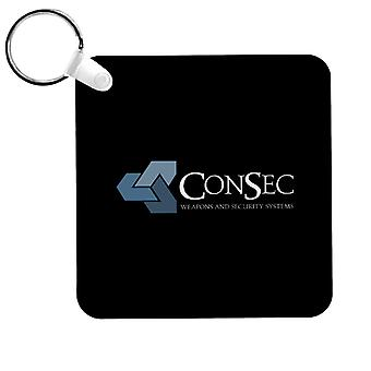 ConSec Weapons And Security Systems Scanners Keyring