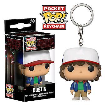 Stranger Things Dustin Pocket Pop! Keychain