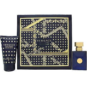 Versace Dylan Blue Pour Homme Eau de Toilette Spray 30ml Set regalo