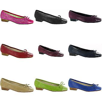Riva Andros Suede Ballerina / Womens schoenen