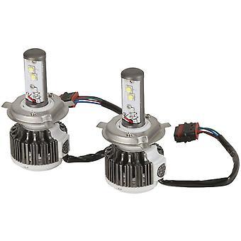 TechBrands luxeon Z ES LEDs Car Headlamp Kit (40W 3800lm H4 Hi/Lo)