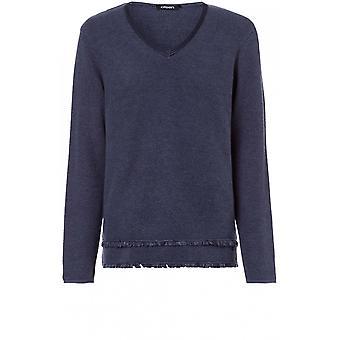 Olsen Blue Indigo Knit Jumper
