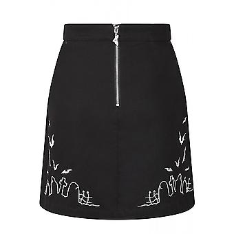 Hell Bunny Cullen Mini Skirt