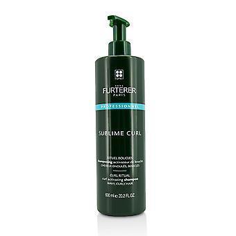 Sublieme krul krul activerende shampoo golvend, krullend haar (salonproduct) 215702 600ml/20.29oz