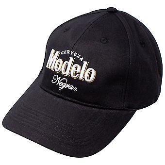 モデロ ネグラ ブラックとホワイト アジャスタブル ストラップバック ハット