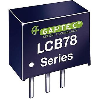 Gaptec LCB78_05-0,5 DC/DC converter (print) 24 V DC 5 V DC 500 mA 2,5 W Nee. van de uitgangen: 1 x