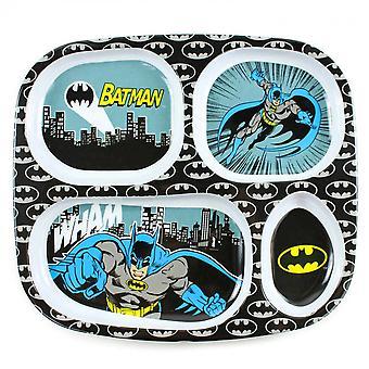 Batman Melamine Divided Plate